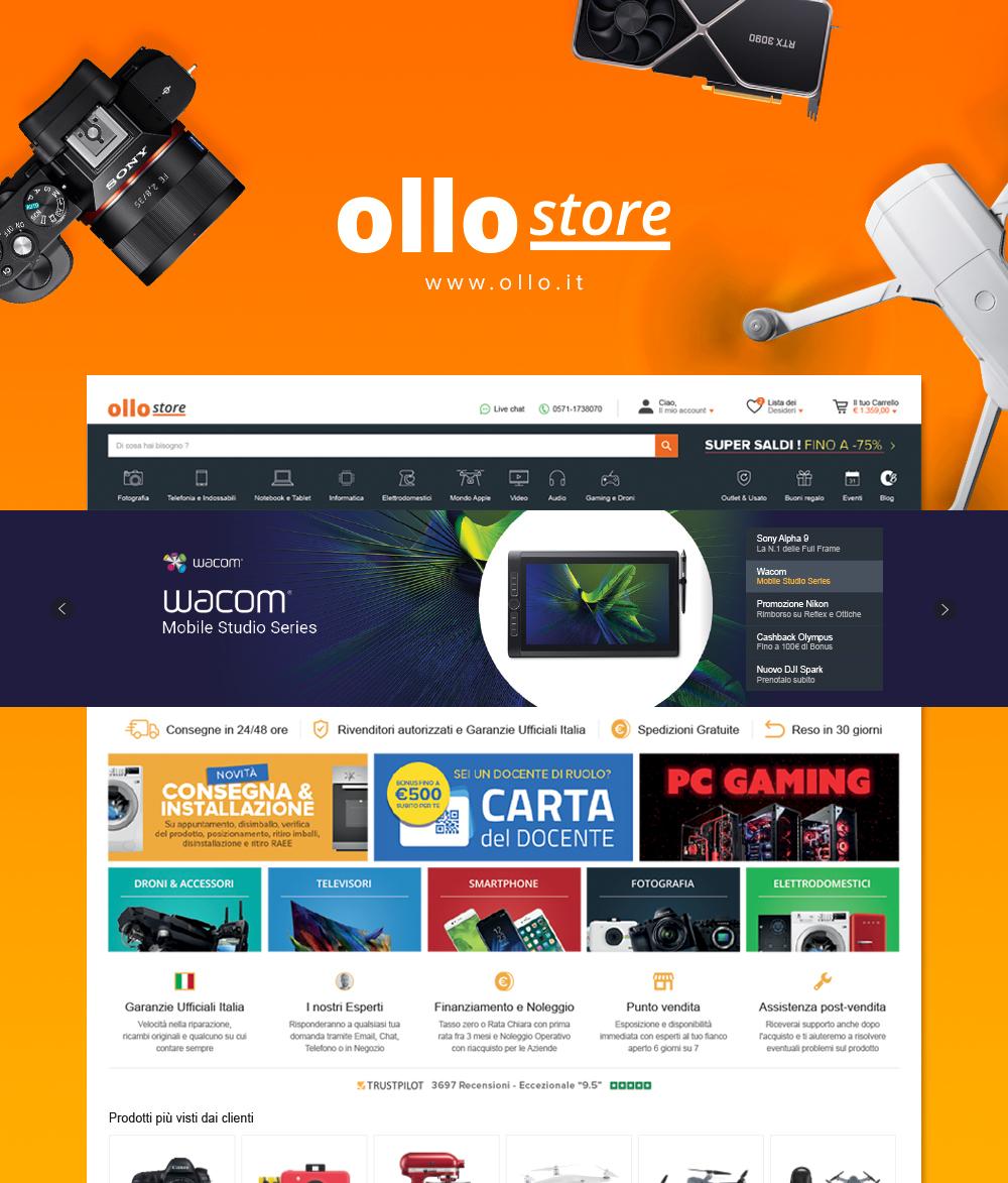 Ollo Store – Elettronica Ecommerce